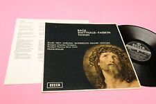 BACH MUNCHINGER LP MATTHEW PASSION ORIG UK 1965 NM DECCA STEREO GROOVED CLASSICA