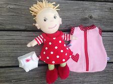 Nachthemd Schlafsack Windel für Puppen HABA friends Gr. 20 cm Mirle Mirli Miro