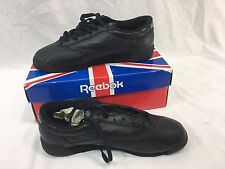 NOS VINTAGE REEBOK CLASSIC FREESTYLE LOW Womens 7.5 BLACK Sneakers Shoes