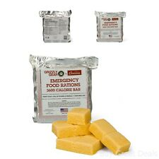 Emergency Food Ration 3600 Calorie Bar 3 Day Supply Less Sugar And More Nutrient