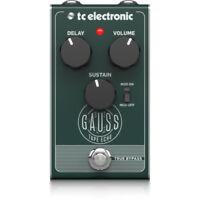 TC Electronic Gauss Echo Guitar Effects Pedal Stompbox