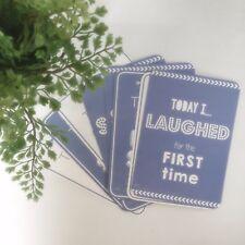 Blue Baby Milestone Cards - Baby Shower Gift - Baby Boy Gift - Baby Keepsakes