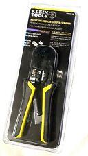 New Klein Tools Ratcheting Data Cable Crimper Stripper Cutter Vdv226-011-Sen