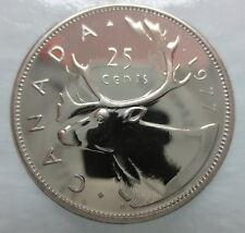 1977 CANADA 25 CENTS SPECIMEN QUARTER COIN