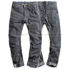 ORGANIC RAW BY G-STAR LOOSE TAPERED JEANS RINSED DENIM PANTS W32 L34 RRP $390