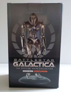 EAGLEMOSS  BATTLESTAR GALACTICA CYLON CENTURION FIGURE NEW BOXED SLIGHT DAMAGE
