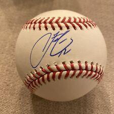 CLEVELAND INDIANS FRANCISCO LINDOR SIGNED  MLB BASEBALL FANATICS A361469