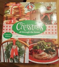 Christmas Cookbook Recipes Crafts Decoration Ideas Ringbook Hardcover Goosberry