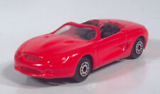 """Maisto Ford Mustang Mach III  3"""" Red Diecast Scale Model Convertible"""