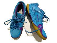 Babolat Tennis Shoes Blue Michelin Man Logo On Heel Size US 9
