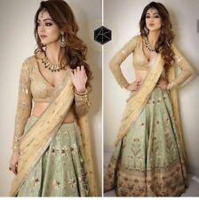bollywood pakistani Indian lehenga choli dupatta set wedding dress lengha sari