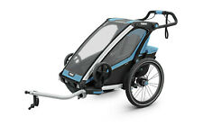 Thule Chariot Sport 1 Blue Kinderanhänger Fahrradanhänger Blau für 1 Kind