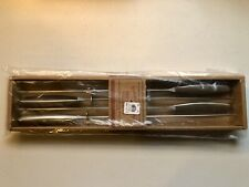 New Williams Sonoma Set of 4 Sliding Skewers Grill Kabobs Tool Stainless Ss
