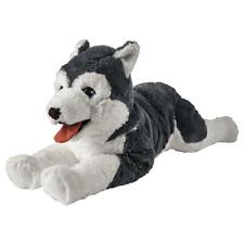 * Nuovo * livlig Giocattolo morbido, Cane, Husky Siberiano 57 cm 402.979.90 * MARCA IKEA *