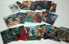 '92 Mars Attacks Topps 31 various New Visions/The Comics card set  NM/VF preown