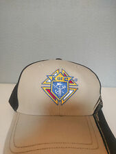 Baseball Cap with Knights of Columbus Logo on the Front and a Flame on the Side