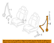 Infiniti NISSAN OEM 11-12 M56 Front Seat Belt-Assy Left 868851MA4B