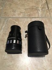 Singer Graflex Anamorphic 16-D Lens 16D Lens with Carrying Case - Very Good