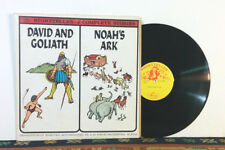 David & Goliath, Noah's Ark (LP 1950s) Children's Stories With Orchestra RARE NM