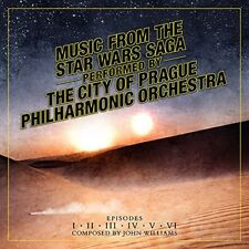 CITY OF PRAGUE PHILHARMONIC ORCHESTRA - STAR WARS SAGA: EPISODES 1-6  CD NEU