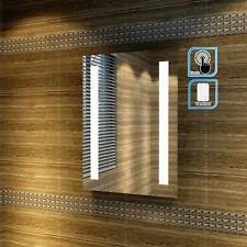 450x600mm Designer Illuminated LED Bathroom Mirror Light IP44 SENSOR TOUCH