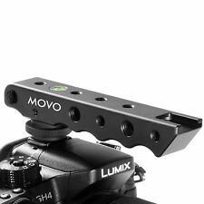 Movo SVH6 Video Stabilizing Top Handle Rig & Cold Shoe Extender for DSLR Camera