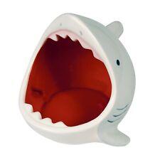 What On Earth Ceramic Shark Bowl - Gray Attacking Shark Fish Shaped Candy Dish