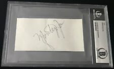 "Montego Joe ""HARLEM JAZZ LEGEND"" signed autographed card signature BECKETT BAS"
