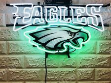 "New Philadelphia Eagles Beer Neon Light Sign 20"" Hd Vivid Printing Technology"