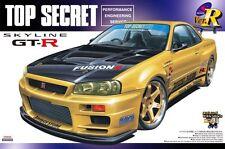 Aoshima 041727  1/24 Nissan Skyline GT-R TOP SECRET From JAPAN Rare