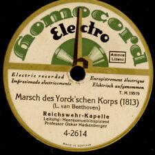REICHSWEHR-KAPELLE & HACKENBERGER Marsch des Yorck'schen Korps; von 1928   S1444