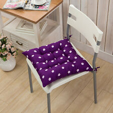 Soft Dining Room Chair Office Seat Pad Tie On Cushion Kitchen Floor Home Decor