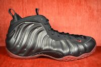 CLEAN 2010 Nike Air Foamposite One Black Red Cough Drop 314996-006 Size 12