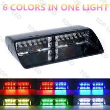 12 LED Car Emergency Hazard Warning Windshield Dash Flash Strobe Light RGB 12V