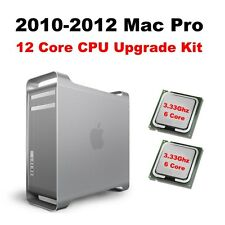 2010-2012 Apple Mac Pro 5,1 12 Core Via (2) Six Core 3.33Hz CPUs Upgrade Kit