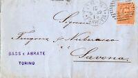 BUSTA LETTERA ITALIA REGNO 1889