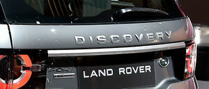 Land Rover OEM Discovery Sport 2015+ Atlas Silver Tailgate Trim Molding NEW