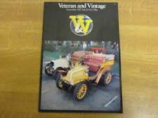 November 1977, VETERAN & VINTAGE, Rover P4, Ernest Lyon, Rolls Silver Ghost.