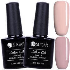 2Pcs 7.5ml Nail UV Gel Polish UV/LED Gel Soak Off Varnish Nail Art Kit UR SUGAR