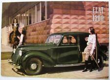 FIAT 1500 #4005 Original Car Sales Brochure