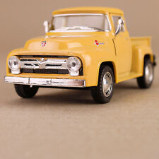 Yellow 1956 Ford F-100 Ute Pick-up 1:38 Scale Die-cast Collectible Model Car
