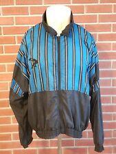 Reebok Shaquille O'Neal Vintage Full Zip Nylon Jacket Mens Large Orlando Magic