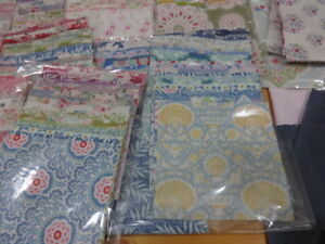 TILDA CHARM PACKS- 5 INCH CHOICE OF COLOURS  100%  COTTON QUILTING/CRAFT FABRIC
