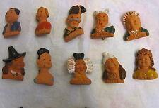 Winterhilfswerk WHW 10 Figuren aus Keramik Wilhelm Busch