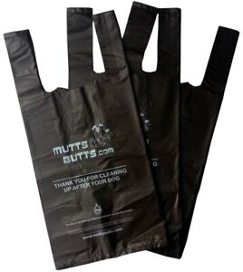 Top Quality Dog Poo Bags Tie Handles Biodegradable 25 microns thick large