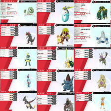 Qualsiasi Pokémon Shiny/Square Shiny - 6IV - Pokemon Sword & Shield Spada Scudo