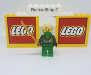 Lego Ninjago Lloyd Techno Robe Minifigure Rebooted Set 70725 Green Ninja A33M