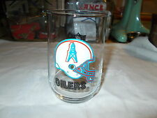 4 Vintage NFL Houston Oilers Glass Tennessee Titans EUC