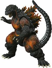 IRON ON TRANSFER - BURNING GODZILLA Size 13cm X 10cm FOR ANY COLOUR TOP