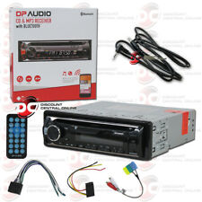BRAND NEW DP AUDIO CAR 1-DIN CD MP3 AM FM BLUETOOTH STEREO FREE 3.5mm AUX CABLE